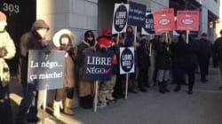Les cols blancs de Montréal en grève dès