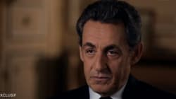 Sarkozy parle d'un...