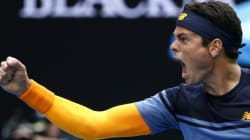 Milos Raonic élimine Stan Wawrinka aux Internationaux
