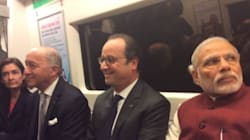 Quand Hollande s'offre un tour de métro à New