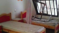 Centro per bambini ciechi bombardato in