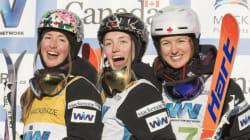 Le triplé des soeurs Dufour-Lapointe: un exploit