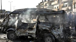 Double Bomb Attack In Homs, Syria Kills At Least 22, Wounds Over