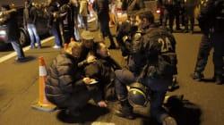 Pneus brûlés et autres incidents dans les grèves en France