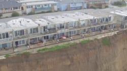 El Niño Erosion Leaves California Apartments On The Brink Of