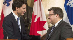 Coderre Signals Energy East Position Could