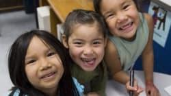 Les enfants autochtones discriminés par le