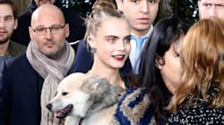 Cara Delevingne Brings A Very Special Date To Chanel Couture