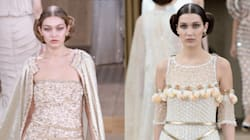 Gigi And Bella Hadid Make Their Chanel Couture