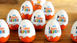 Le «Kinder Surprise» interdit de vente au
