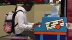 Ce pianiste a surpris tout le monde au centre commercial