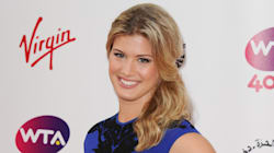 Eugenie Bouchard sans maquillage sur Instagram