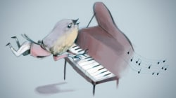 Ce pianiste a surpris tout le monde au centre