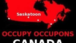 Occupy Saskatoon Protest