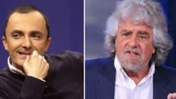 Luttazzi contro Grillo: