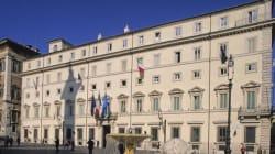 Dipartimenti vuoti e senza referente: palazzo Chigi a ritmo
