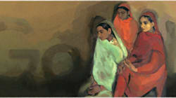 Google Recreates Amrita Sher-Gil's 'Three Girls' For Her 103rd Birth