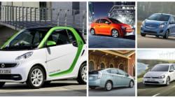 Les 12 voitures les plus vertes