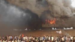 Kapu Quota Stir In Andhra Pradesh Turns Violent; Train, Police Vehicles Set On