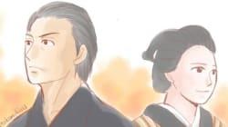 『あさが来た』視聴率好調、雁助ロスを描いた「あさ絵」が素敵(画像集)