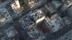 Startling Drone Footage Shows Scale Of Destruction In Homs,