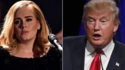 Adele dénonce l'utilisation d'une de ses chansons par Donald