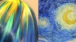 Elle s'inspire des peintures classiques pour colorer ses