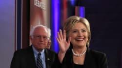 Clinton batte Sanders per un pugno di voti. La competizione sarà lunga e