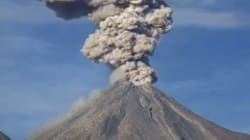 Volcano Spurts Gigantic Ash Plume In Mesmerizing Time-Lapse