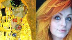 Cette coloriste transforme des oeuvres d'art en couleurs de cheveux