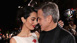 Amal And George Clooney Steal The Show At 'Hail, Caesar!'