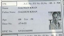 Salman Khan's Picture And Name Turns Up On Voter Slip In