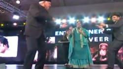 WATCH: Ranveer Singh And Farooq Abdullah Match Steps At An Award