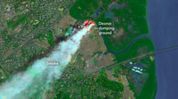 Mumbai's Massive Garbage Fire Was Visible From