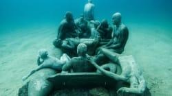 Le premier musée sous-marin d'Europe prend forme