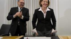 Alberta Premier Alison Redford's First