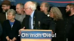 Quand Bernie Sanders se précipite au chevet d'un supporter qui fait un