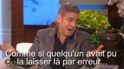 Clooney raconte son épique demande en