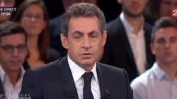 Nicolas Sarkozy est content de parler avec les Français