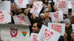 Le unioni civili non c'entrano con l'ideologia, sappiate che i gay non sono tutti di