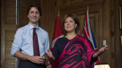 B.C. Is Canada's Only 'Bright Spot,' Clark Tells