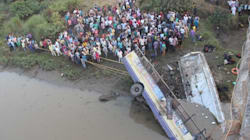 37 Dead As Bus Plummets Into Purna River In