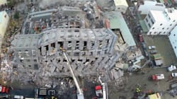 Le immagini dei danni del terremoto di Taiwan viste dal drone