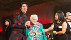 Trudeau Brought 'Hurricane Hazel' As His Date To Chinese New