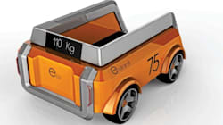 L'Ecotranzit: un robot urbain qui livre des