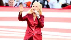 Lady Gaga a chanté l'hymne américain comme