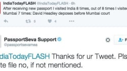 For The Last Time Passport Seva Office, We DON'T Have David Headley's File
