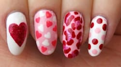 Get Into The Valentine's Day Spirit With This Nail Art