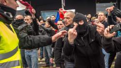 Jusqu'à 3 mois ferme pour les anti-migrants jugés en comparution