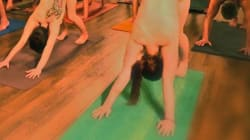 Naked Yoga Calgary Offers Valentine's Day Class For